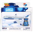 Jet Blue Airlines Building Block Construction Toy