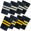 Two Bar Epaulets - Flight Engineer
