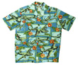 Island Mist Hawaiian Airplane Shirt