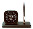 Altimeter Desk Model Alarm Clock/Pen Set