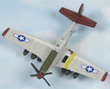 P-51 Mustang Hot Wings Die-Cast Airplane