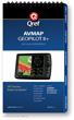 AvMap Geopilot II / II Plus Multi-Page Qref Book