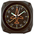 Directional Gyro Desk Alarm Clock