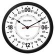 Zulu Time Wall Clock - 24 Hour Format - 10