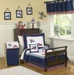 Aviator Toddler Bedding Set - 5 piece