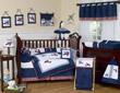 Aviator Crib Bedding Set - 9 piece