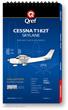 Cessna Turbo 182T Checklist Qref Book