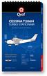 Cessna Turbo 206H Stationair Checklist Qref Book