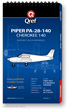 Piper Cherokee 140 PA-28-140 Checklist Qref Book