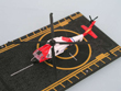 SH-60 Coast Guard Helicopter Hot Wings Die-Cast Model