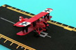 Red Baron Biplane Hot Wings Die-Cast Airplane