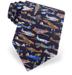 World War II Airplanes Tie