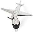 Nickel Plated Airplane Bottle Stopper