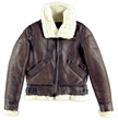 Women's Cockpit B-3 Leather Bomber Jacket
