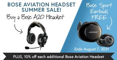 Bose A20 Aviation Headset Promo