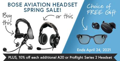 Bose ProFlight 2 Promotion