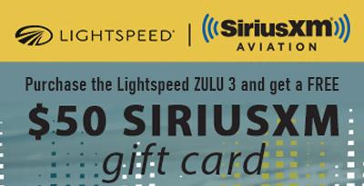 Lightspeed Zulu 3 Pilot Headset Special Offer