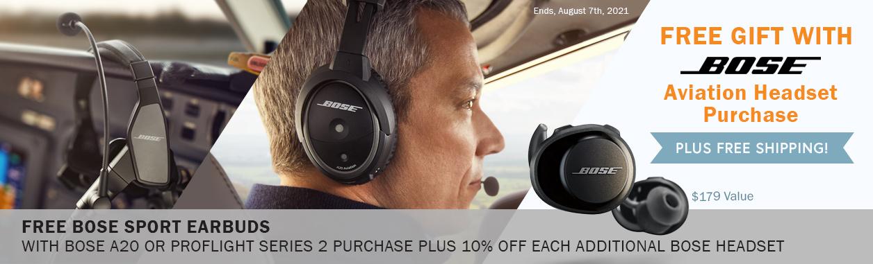 Bose Aviation Headset Promotion