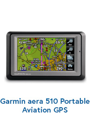 Garmin aera 510 Portable Aviation GPS