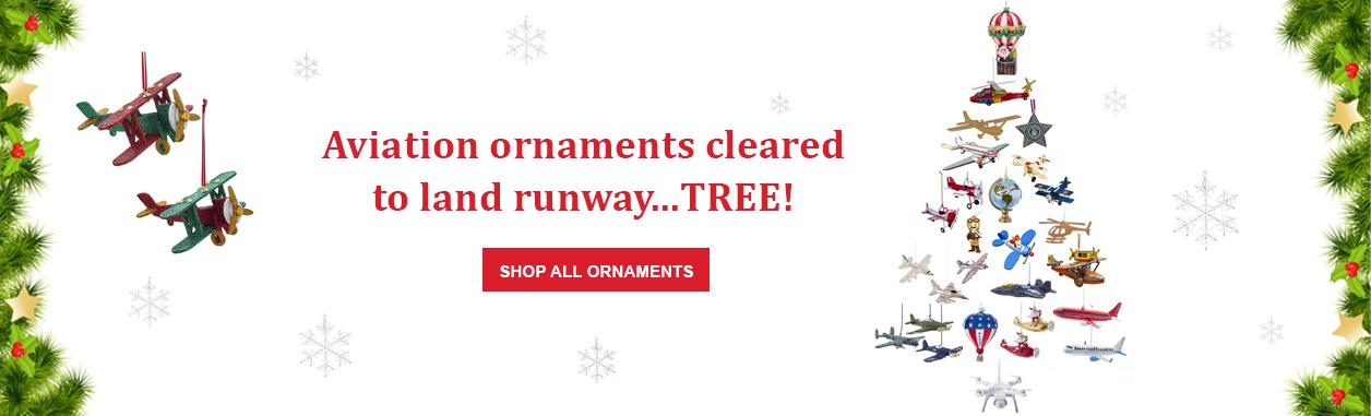 Aviation Christmas Ornaments